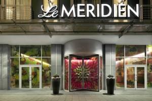 Le Meridien Munich entrance