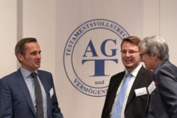Pausengespräch auf der AGT-Veranstaltung