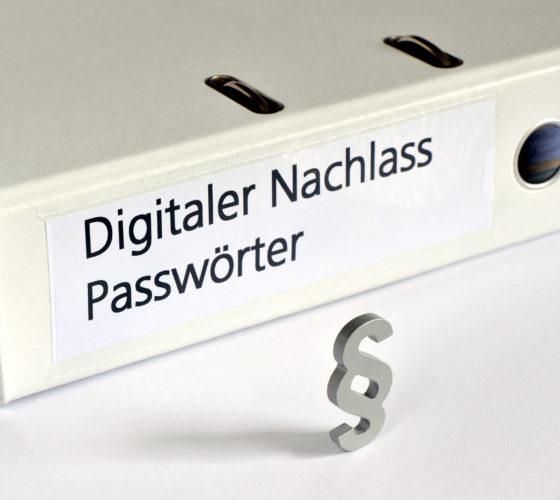 Passwörter im Digitalen Nachlass